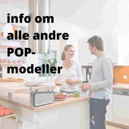 POP til hjem og fritid  -  alle modeller